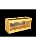 Présentoir pour pot de miel, Vente de présentoirs en bois
